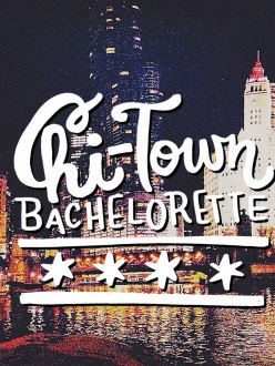 Chi-town Bachelorette / for the love of nike