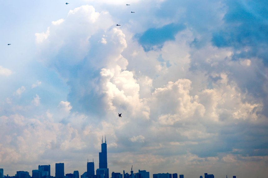 Chicago Air and Water Show 2015 / for the love of nike
