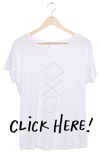 Curated Cotton Shape Shifter Tee