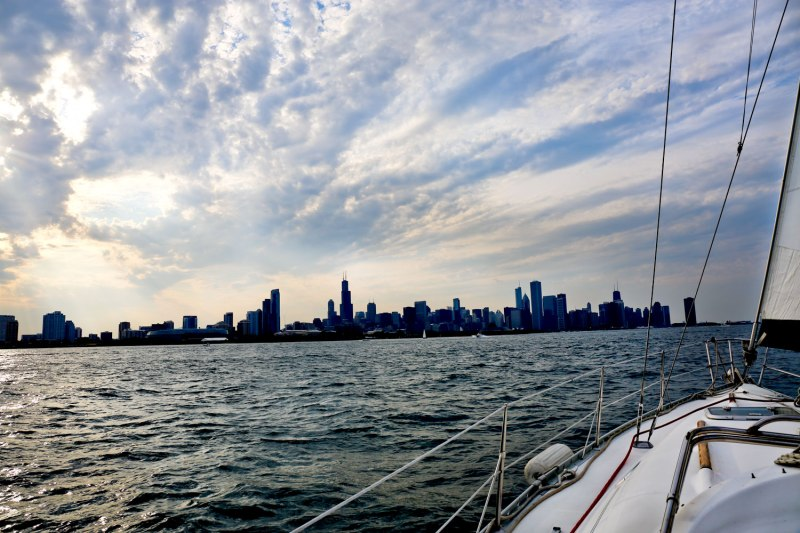 Chicago Sailing / for the love of nike