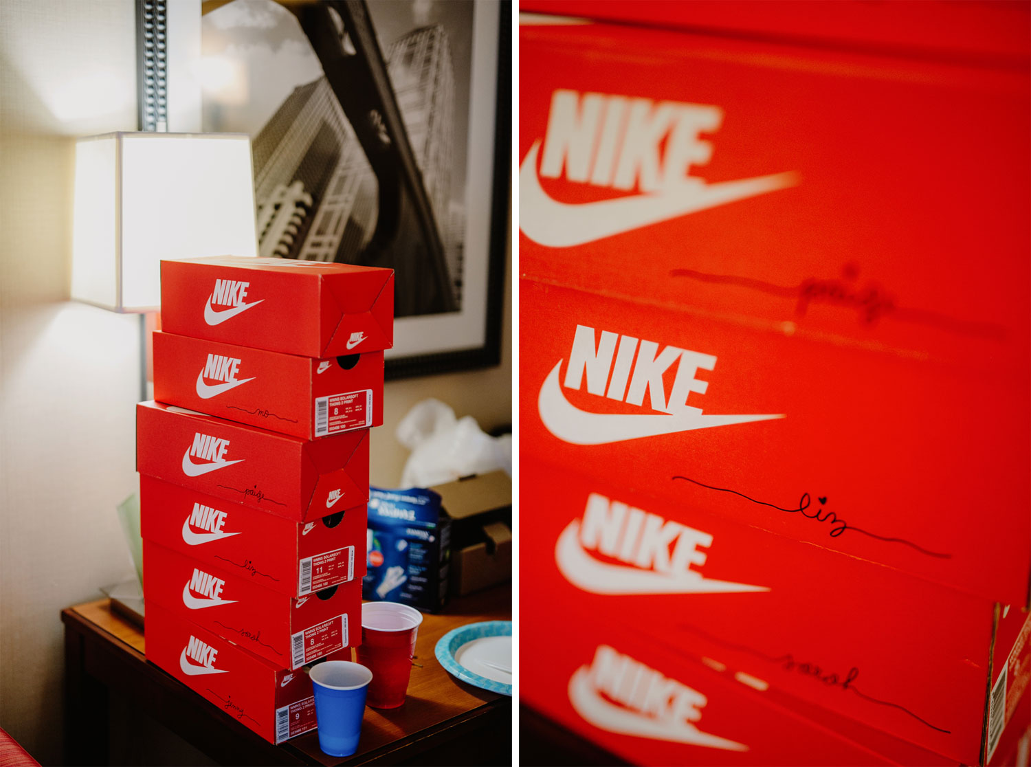 a sneakerhead's dream wedding / for the love of nike