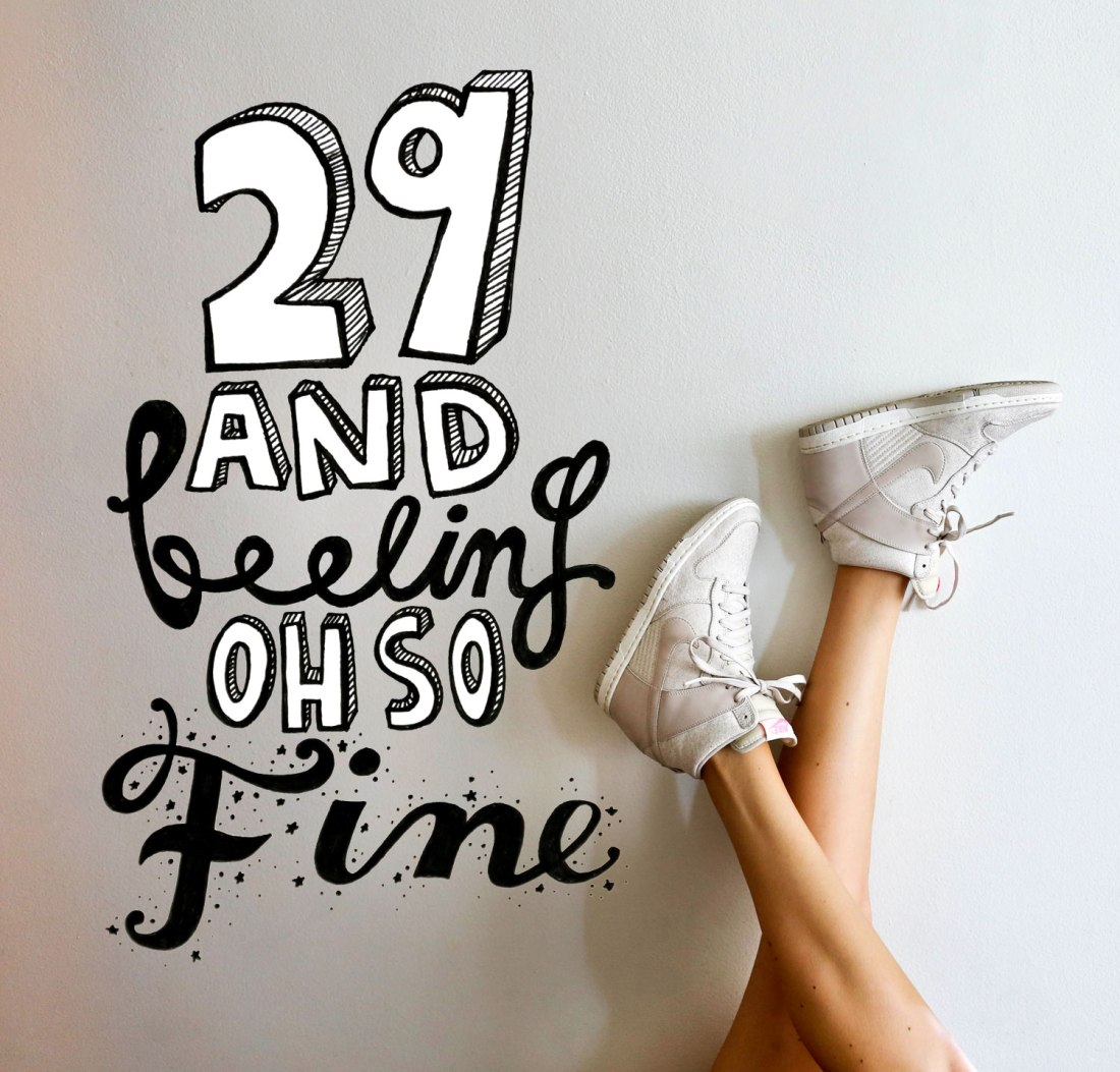 29 and feeling oh so fine! for the love of nike