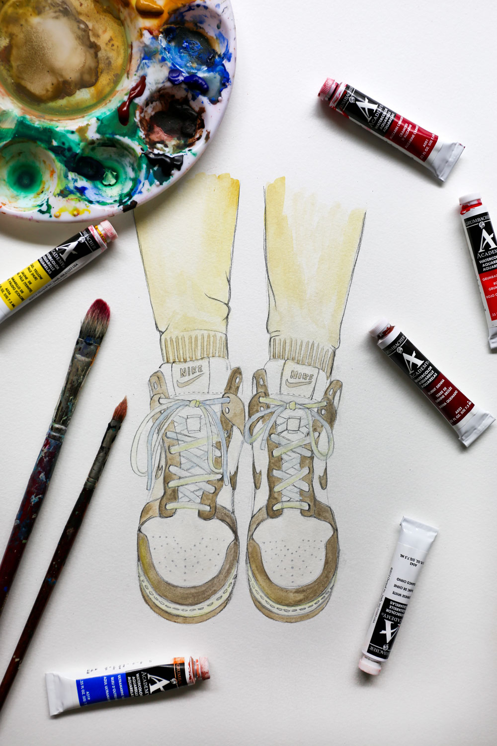 Sky Hi Nikes / for the love of nike