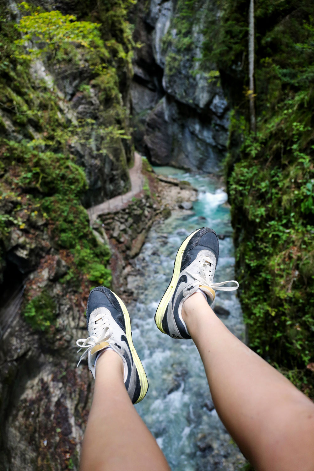 Partnach Gorge, Partnachklamm / for the love of Nike