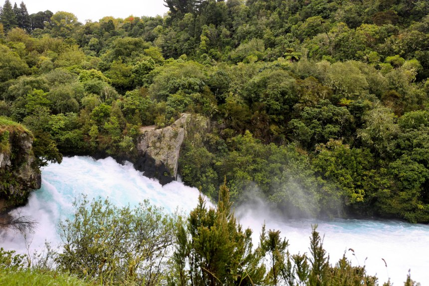 Huka Falls, New Zealand / for the love of nike
