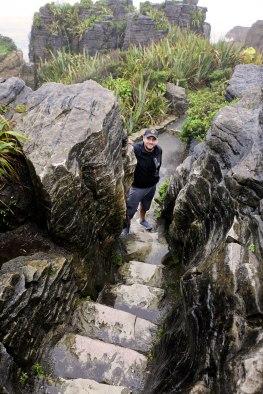 The Pancake Rocks in New Zealand / for the love of nike