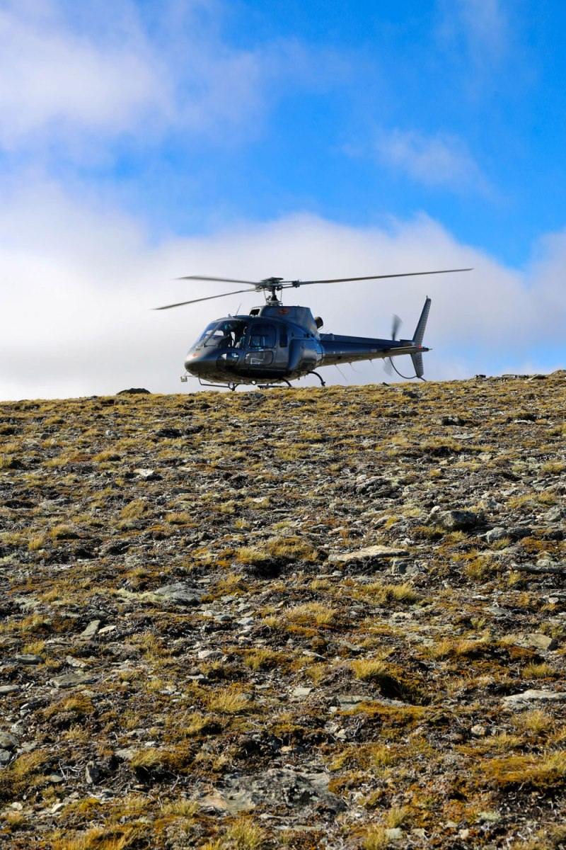 Helicopter in Queenstown / for the love of nike
