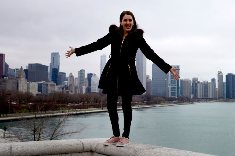 Jenny's back in Chi! / for the love of nike