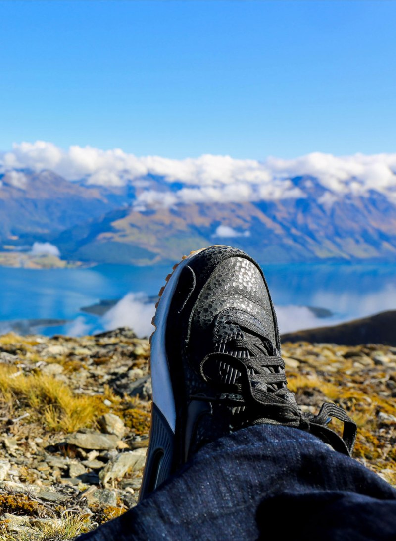 Nikes in Queenstown