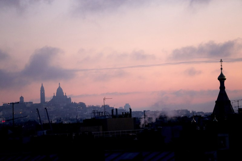 Sunrise in Paris / for the love of nike