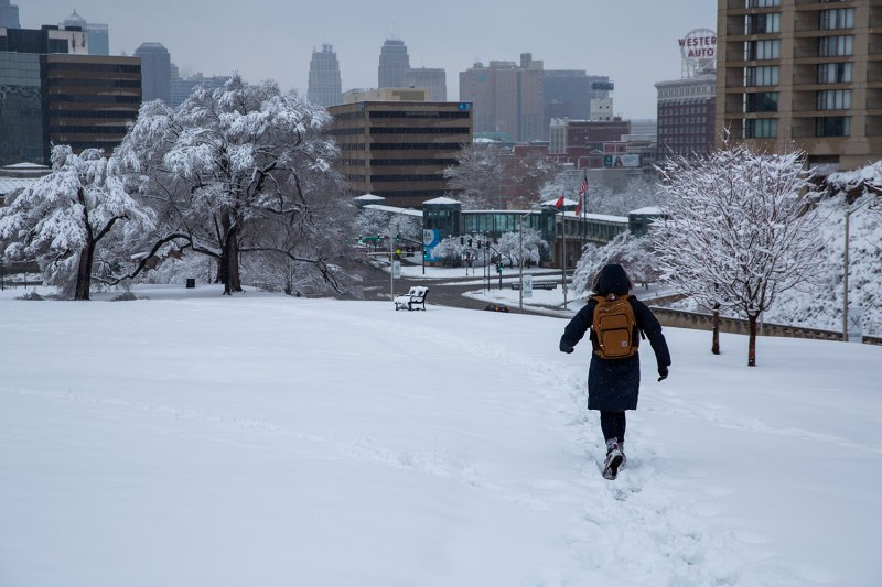 Snow Day in Kansas City, MO / Crafted in Carhartt