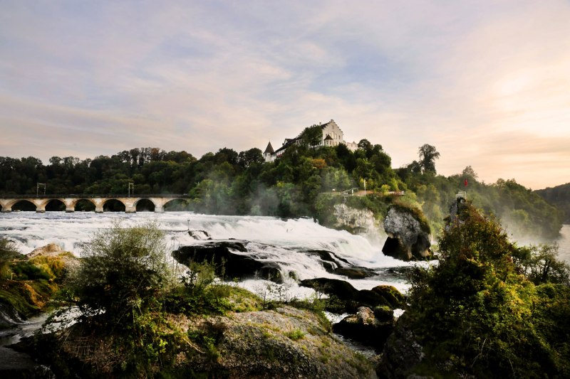 Rhine Falls, Switzerland / for the love of nike