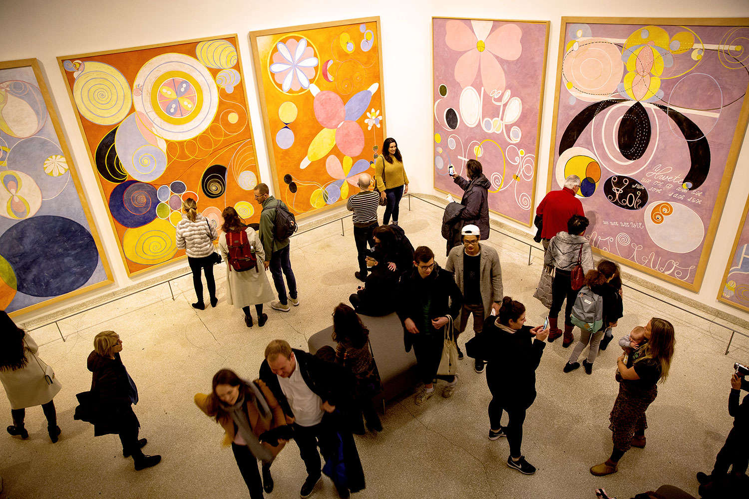 Hilma af Klint at the Guggenheim / for the love of nike