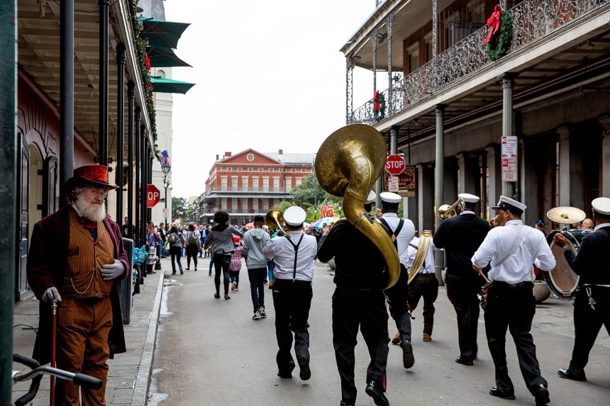 Christmas in New Orleans / for the love of nike