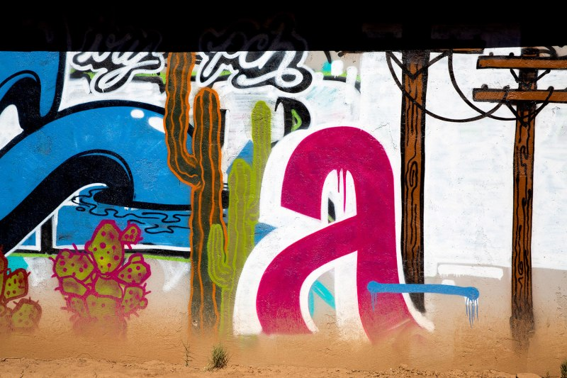 Street Art in Phoenix, Arizona / for the love of nike
