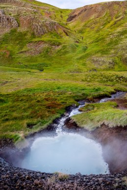 Reykjadalur Thermal Springs in Iceland / for the love of nike
