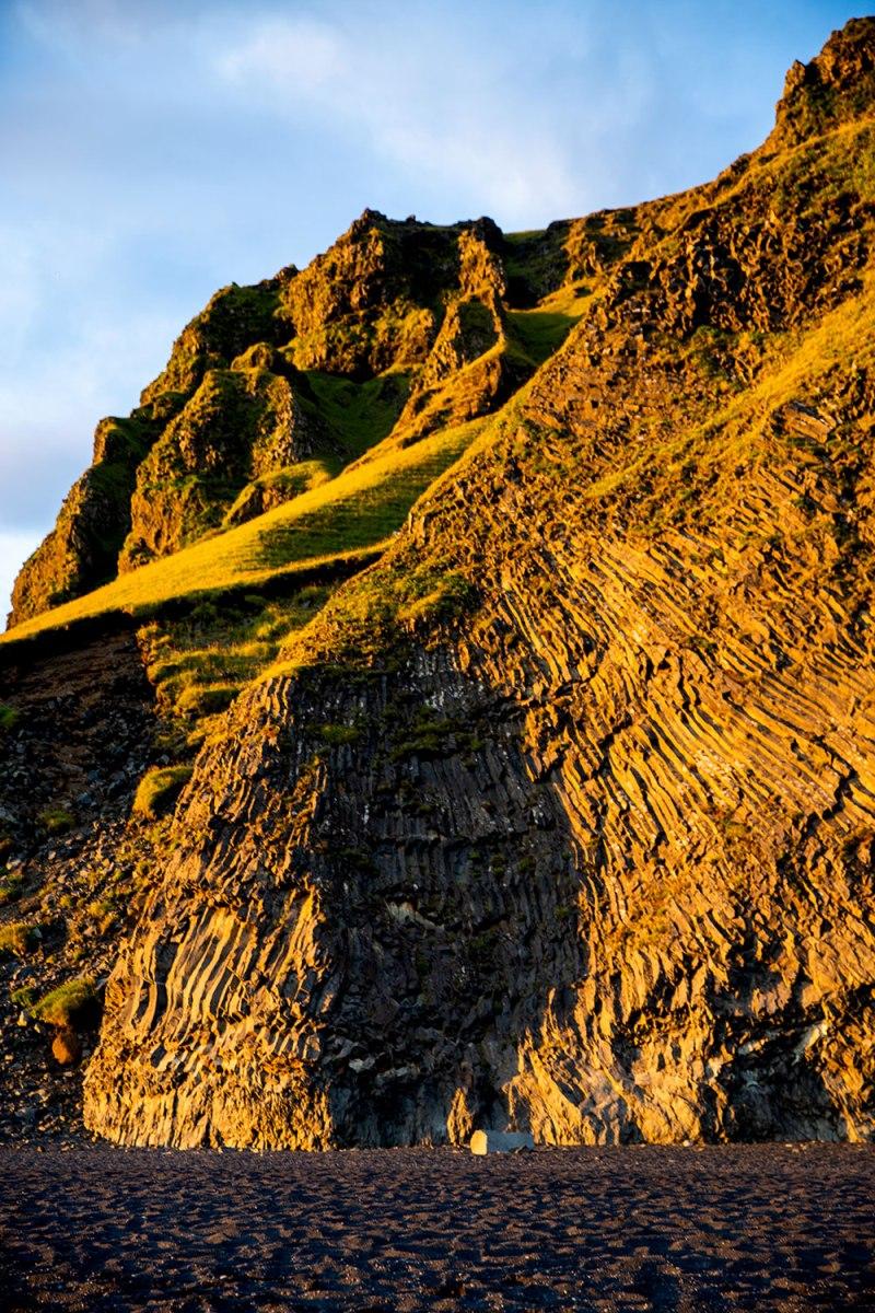 Reynisfjara Black Sand Beach in Iceland / for the love of nike