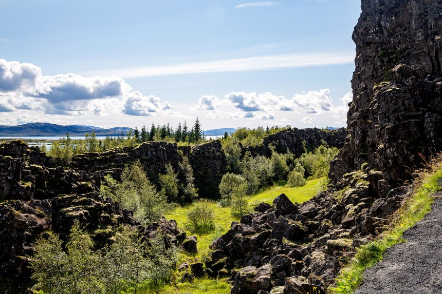 Pingvellir, Iceland / for the love of nike / Jennifer Martinez Conway