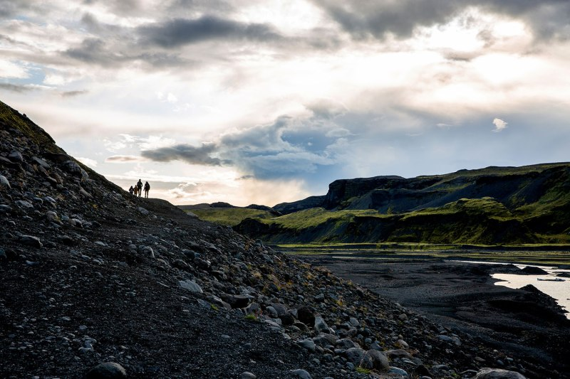 Solheimajokull, Iceland / for the love of nike / Jennifer Martinez Conway
