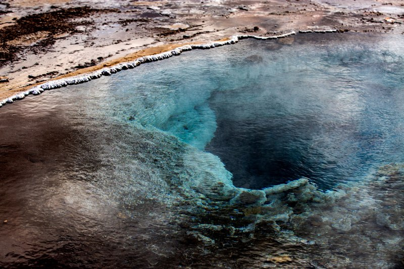 Strokkur Geysir in Iceland / for the love of nike / Jennifer Martinez Conway
