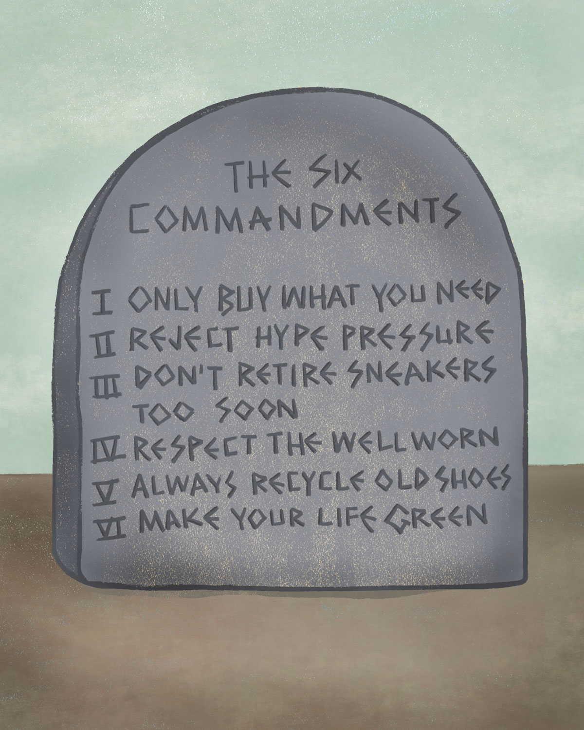 The Six Commandments / for the love of nike