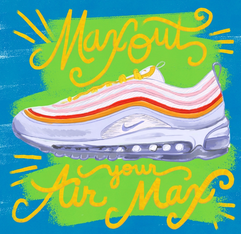 Max Out Your Air Max / for the love of nike / Mile Tracker
