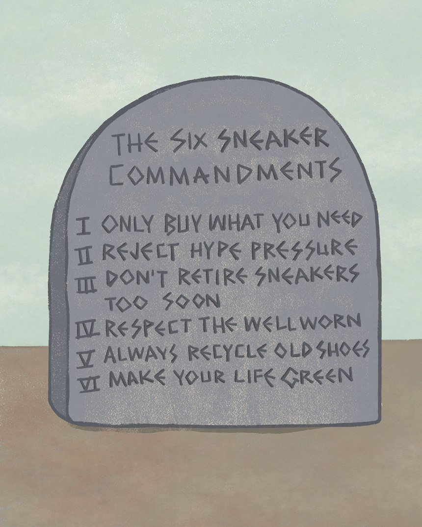 The Six Sneaker Commandments / for the love of nike