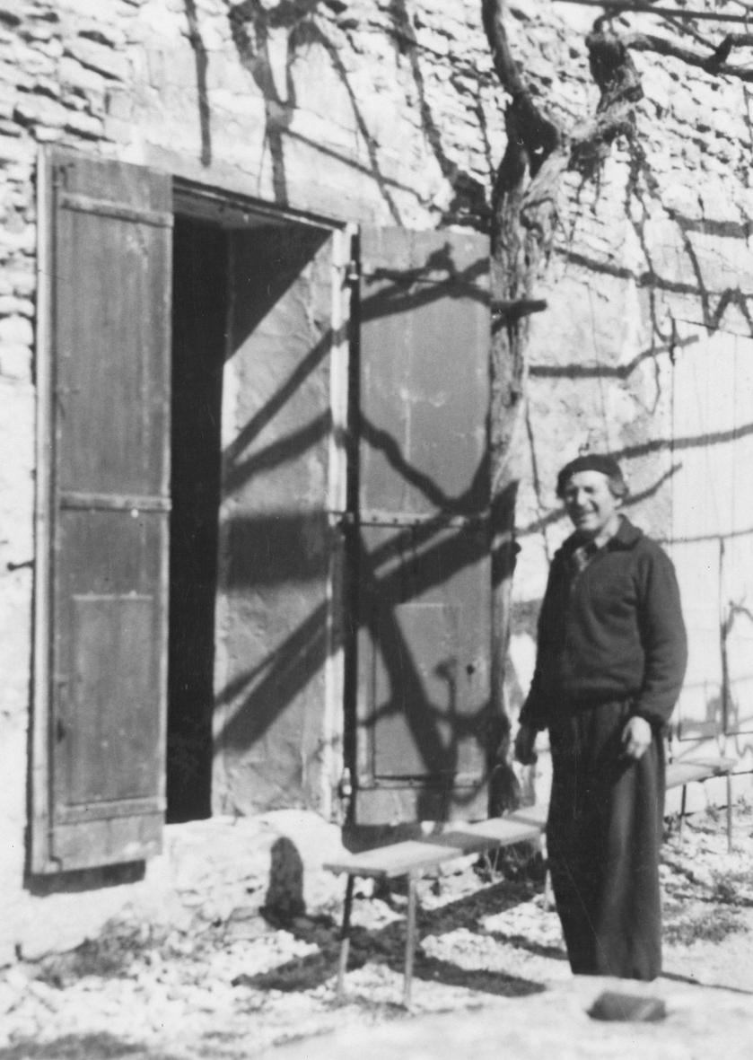 Marc Chagall in Gordes, France